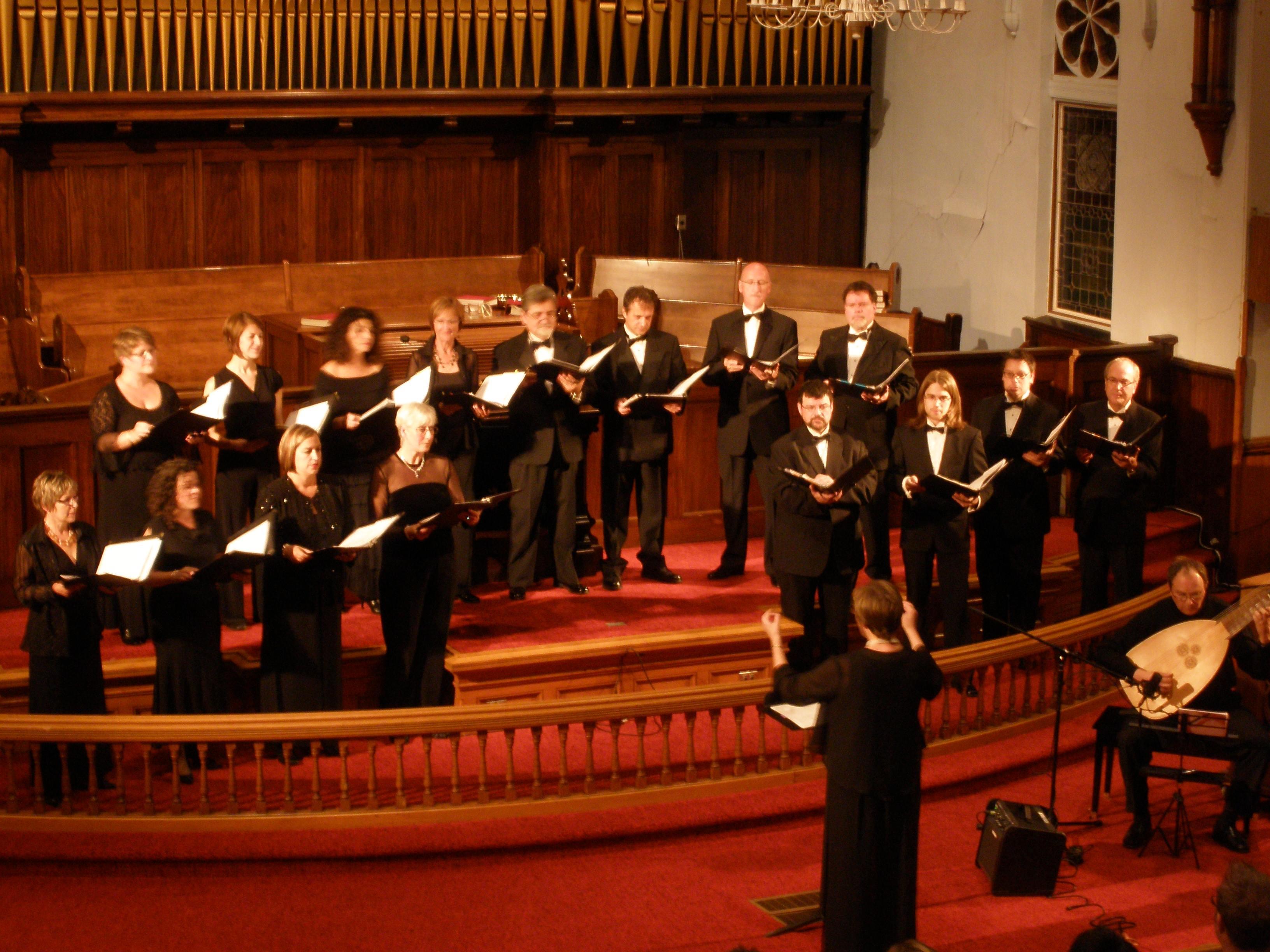 En concert avec le Choeur Louisbourg 2008