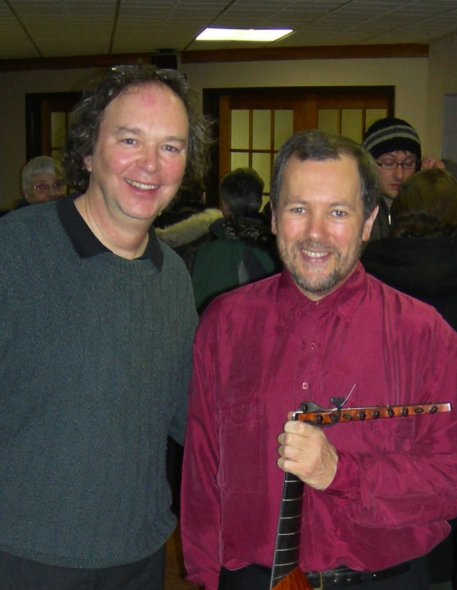 Avec Nigel North, Festival de luth des Territoires du Nord-ouest, 2008